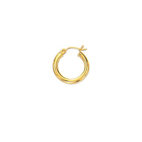 da5c0a9e24ae0 Tiny Children's Baby Hoop Earrings 14K Yellow Gold | eBay