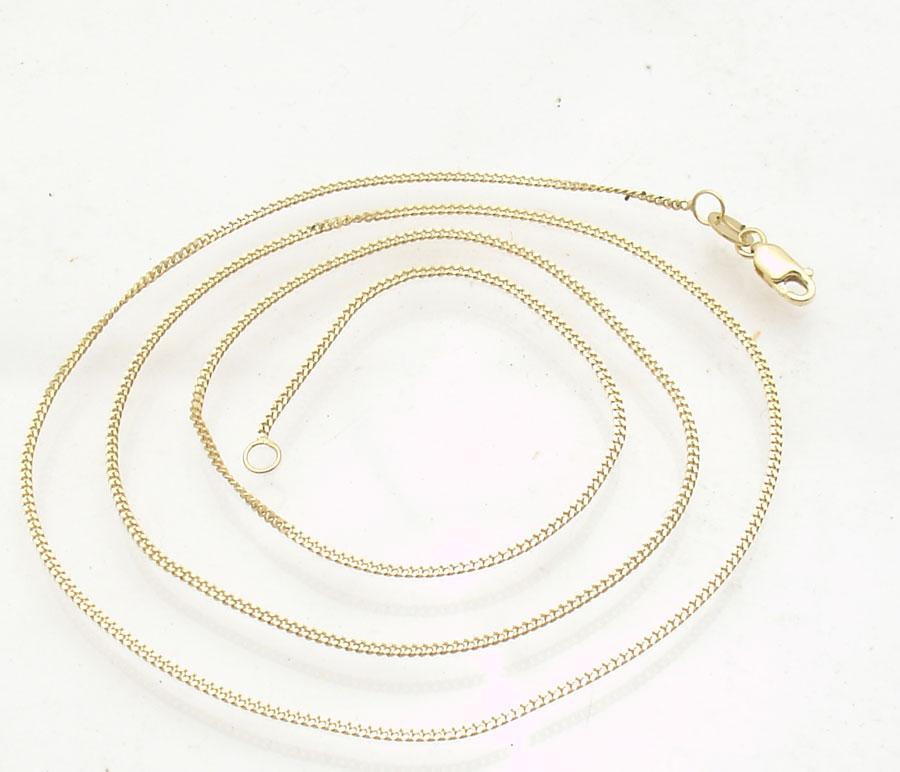 .925 Sterling Silver 1.00MM Open Curb Link Anklet Bracelet