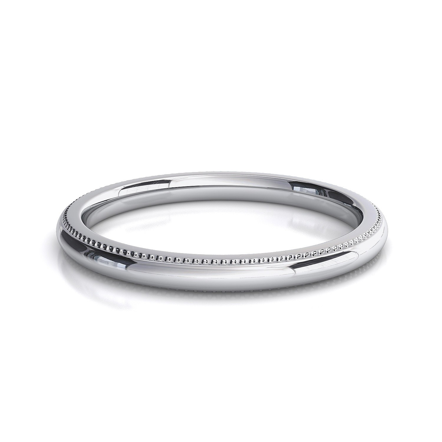 bands diamond milgrain band wedding pl eternity round set platinum channel